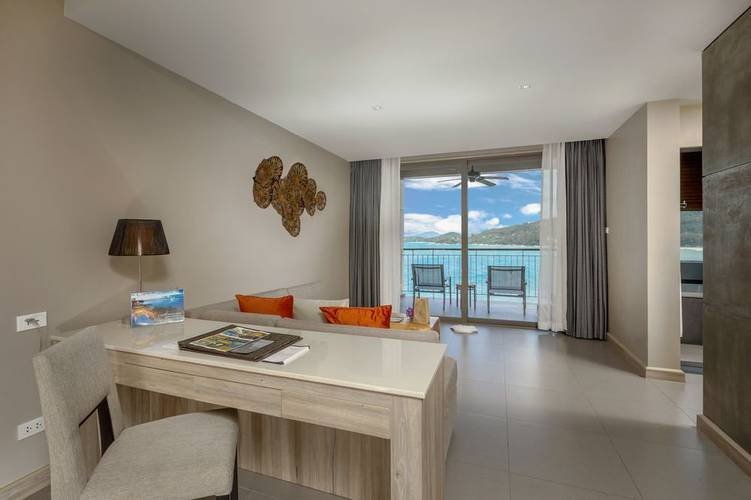 Sea view jacuzzi junior suite Cape Sienna Phuket Gourmet Hotel & Villas Phuket