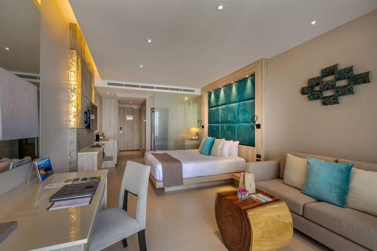 Sea view deluxe room cape sienna phuket gourmet hotel & villas