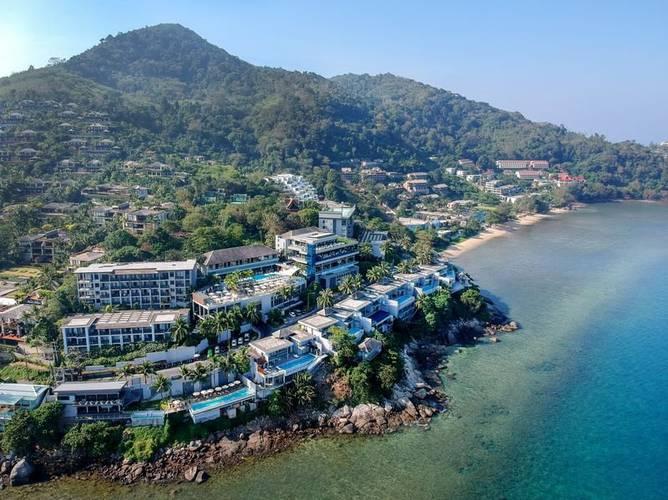Facade cape sienna phuket gourmet hotel & villas
