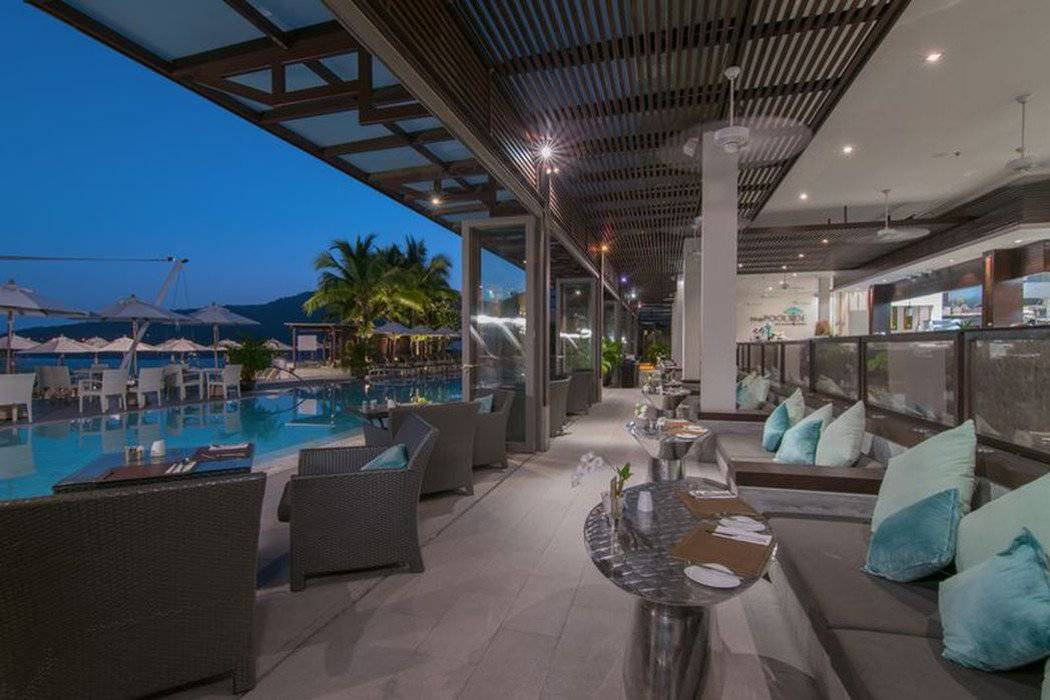 The poolside bar & restaurant cape sienna phuket gourmet hotel & villas