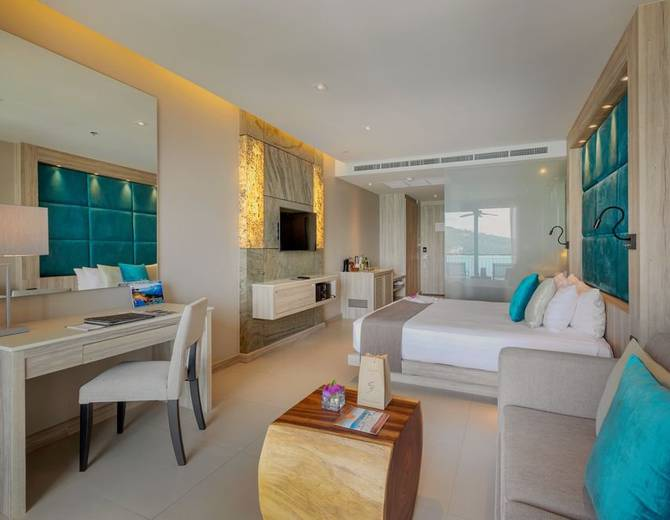 SEA VIEW DELUXE ROOMS Cape Sienna Phuket Gourmet Hotel & Villas Phuket