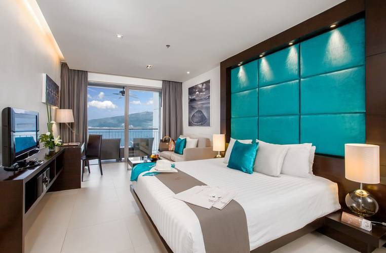 Sea view studio room Cape Sienna Phuket Gourmet Hotel & Villas Phuket