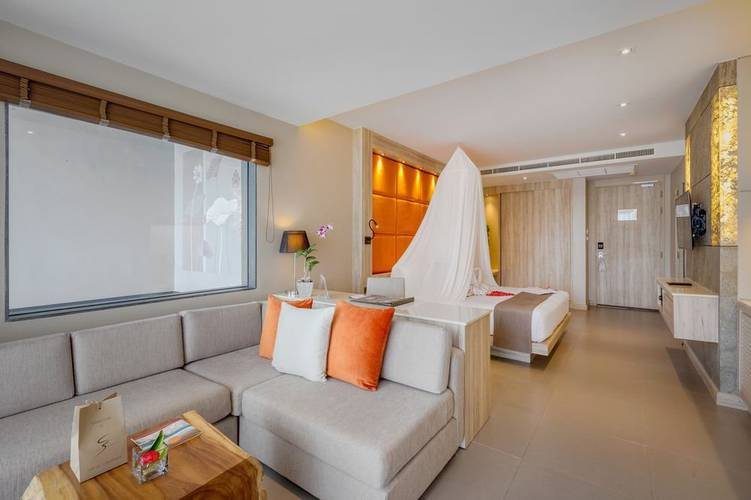 Sea view honeymoon suite Cape Sienna Phuket Gourmet Hotel & Villas Phuket