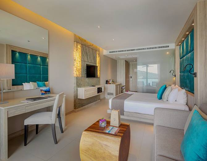 SEA VIEW STUDIO ROOMS Cape Sienna Phuket Gourmet Hotel & Villas Phuket