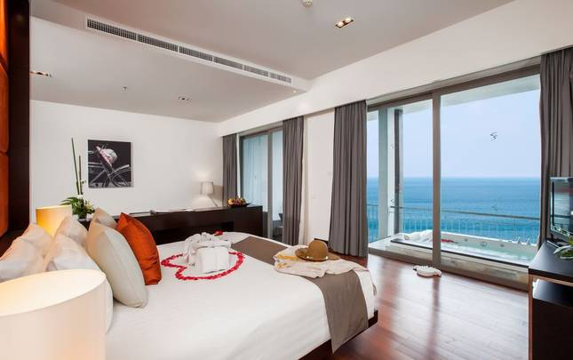 SEA VIEW GRAND SUITES ROOM Cape Sienna Phuket Gourmet Hotel & Villas Phuket