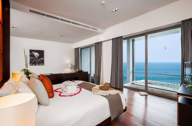 Sea view grand suite room Cape Sienna Phuket Gourmet Hotel & Villas Phuket
